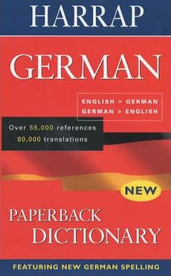 Harrap German Dictionary