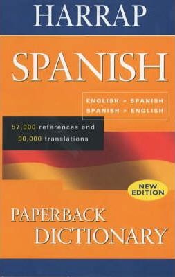 Harrap Paperback Spanish Dictionary