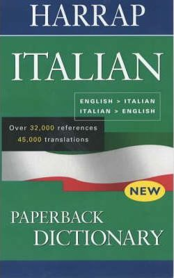 Harrap Italian Paperback Dictionary