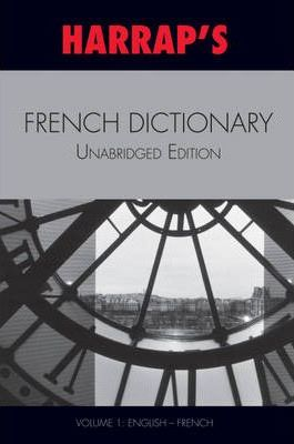 French Unabridged Dictionary: English/French v. 1