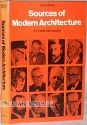 Sources of Modern Architecture
