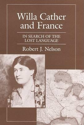 Willa Cather and France CB