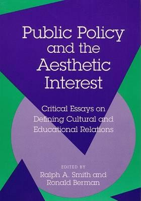 Public Policy and the Aesthet CB
