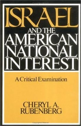 Israel and the American National Interest