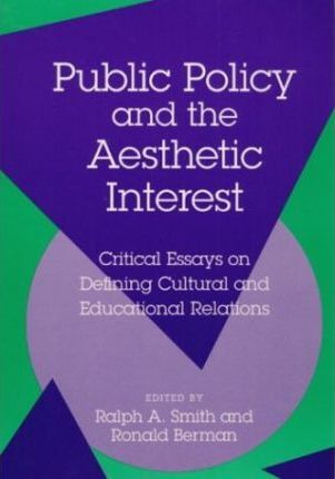 Public Policy and the Aesthet Pb