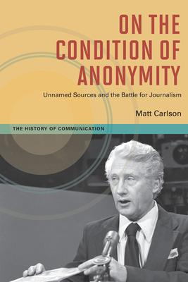 On The Condition of Anonymity