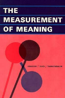 The Measurement of Meaning