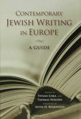 Contemporary Jewish Writing in Europe Contemporary Jewish Writing in Europe