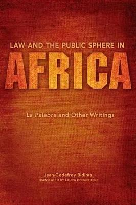 Law and the Public Sphere in Africa Law and the Public Sphere in Africa