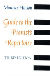 Guide to the Pianistas Repertoire, Third Edition