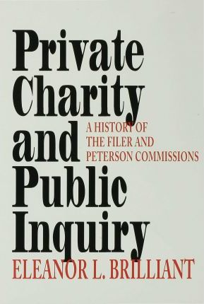 Private Charity and Public Inquiry