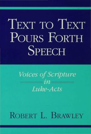 Text to Text Pours Forth Speech