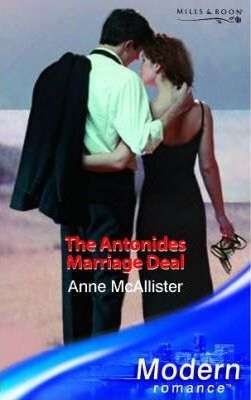 the antonides marriage deal mcallister anne