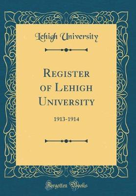 Register of Lehigh University