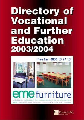Directory of Vocational and Further Education 2003/4