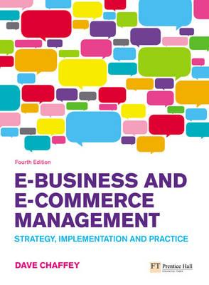 Ebusiness And Ecommerce Management 5th Edition Pdf