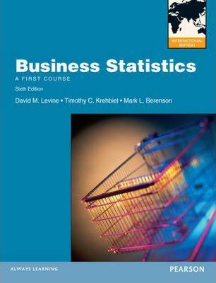 MyMathLab Global Student Access Code Card for Business Statistics A First Course International Editions