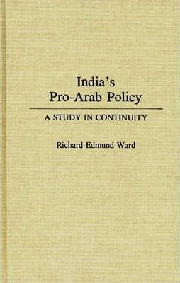 India's Pro-Arab Policy