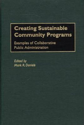 Creating Sustainable Community Programs