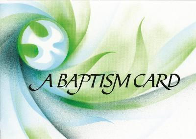 Baptism Card: Pack of 20