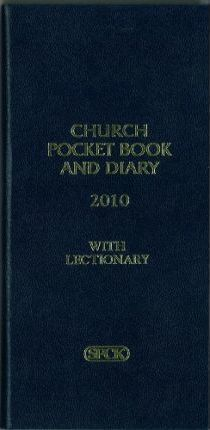 Church Pocket Book and Diary 2010
