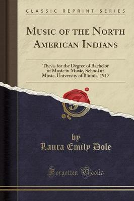 Music of the North American Indians