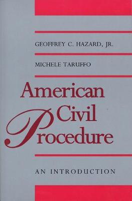 American Civil Procedure  An Introduction