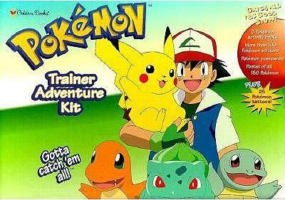 Pokemon Trainer Adventure Kit