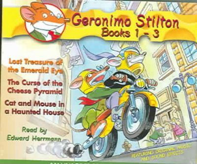 Geronimo Stilton Books 1-3