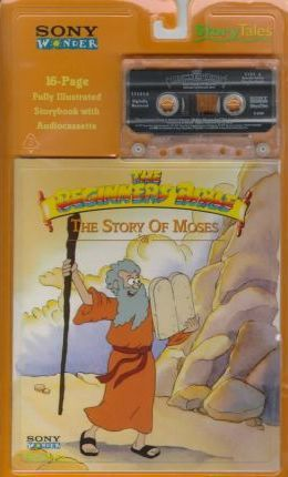 Story Tales Moses Book and Tap