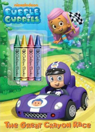 The Great Crayon Race (Bubble Guppies) : Golden Books
