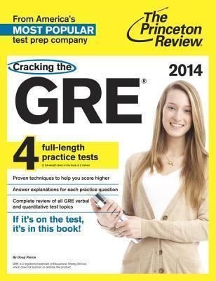 Cracking The Gre With Dvd, 2014 Edition
