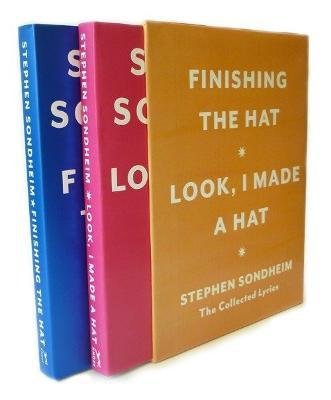 Hat Box  The Collected Lyrics of Stephen Sondheim A Box Set