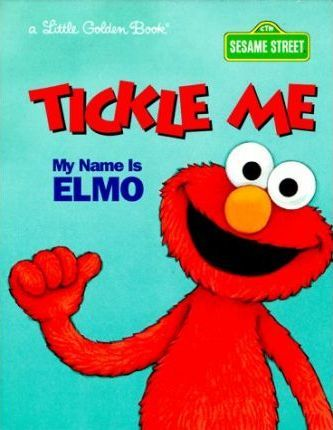 Sesame St Tickle ME My Name is Elmo Lgb