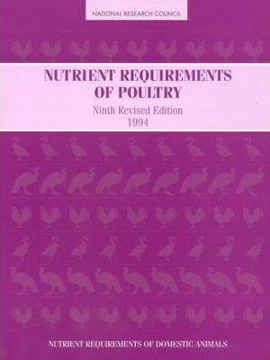 Nutrient Requirements of Poultry 1994