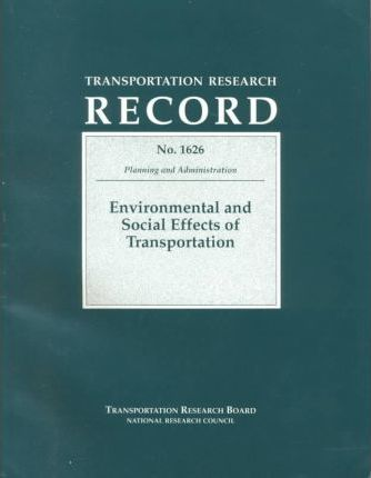 Environmental and Social Effects of Transportation