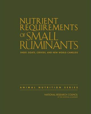 Nutrient Requirements of Small Ruminants