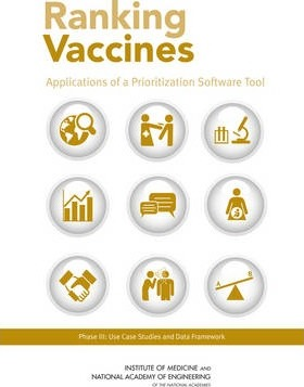 Ranking Vaccines  Applications of a Prioritization Software Tool Phase III Use Case Studies and Data Framework