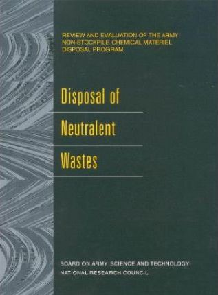 Disposal of Neutralent Wastes