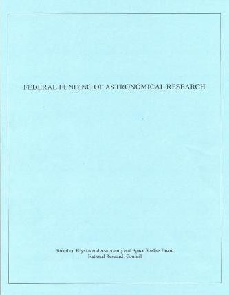 Federal Funding of Astronomical Research