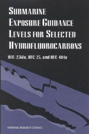 Submarine Exposure Guidance Levels for Selected Hydrofluorocarbons