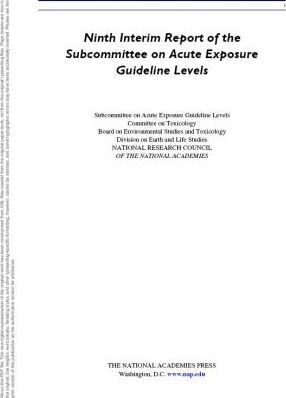 Ninth Interim Report of the Subcommittee on Acute Exposure Guidelines Levels