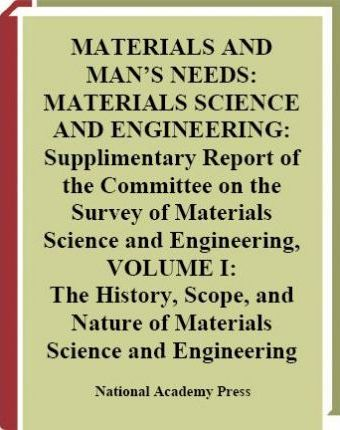 Materials and Man's Needs