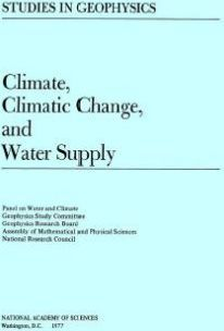 Climate, Climatic Change, and Water Supply