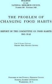 The Problem of Changing Food Habits