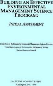 Building an Effective Environmental Management Science Program