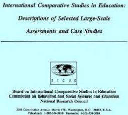 International Comparative Studies in Education