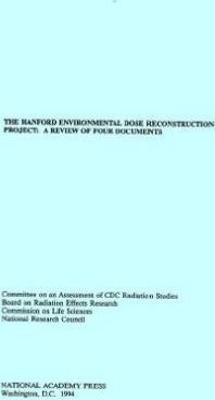 The Hanford Environmental Dose Reconstruction Project