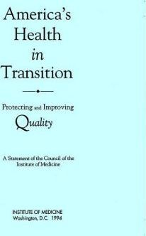 America's Health in Transition