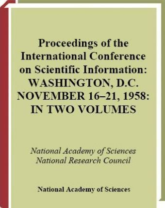 Proceedings of the International Conference on Scientific Information